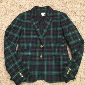 J. Crew Plaid Blazer
